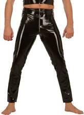 Ledapol - Herren Gay Lack Hose mit Gummizug und Zip in diversen Farben