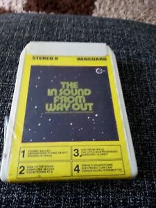 NEW 8 TRACK CARTRIDGE TAPE - JEAN JACQUES PERRY AND GERSHON KINGSLEY ELECTRONIC