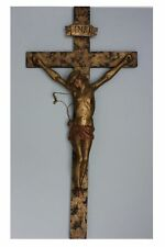 Crocifisso in legno scolpito, 18./19. secolo