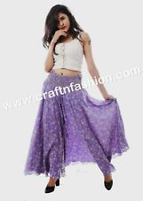 Indo Western Fashionable Fully Flared Women's Umbrella Belly Trouser -Megh Craft
