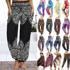 Womens Gypsy Aladdin Harem Pants Boho Yoga Bloomers Hippie Baggy Hareem Trousers