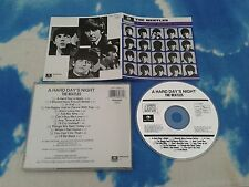 The BEATLES - Hard Day's Night (Original Soundtrack, 1988) CD Made in Holland