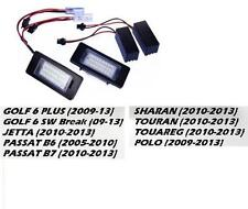 ECLAIRAGE PLAQUE IMMATRICULATION 48 LED SMD VW GOLF 6 PLUS TOURAN POLO SHARAN