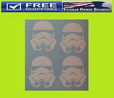 X4 STORMTROOPER STAR WARS VINYL DECAL STICKERS Window Bumper The Force Awakens