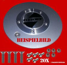24 V2a Schrauben für Kerscher Carmona,Futura,New Star mit Linsenkopf + Senkkopf