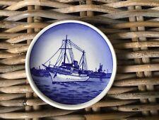 Royal Copenhagen Boat Ship Pin Dish Kongeskibet Kobenhavns Havn