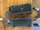 1984 84 SUZUKI RM125 RM 125 RADIATORS SET WRECKING MORE PARTS