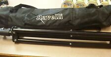 Ravelli ALS Tripod and Case, Black