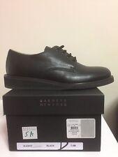 Barneys New York NY Leather Black Mens Sz 7.5 Made in Italy
