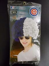 NEW CHICAGO CUBS  ADULT HALLOWEEN COSTUME 2 COLOR CLOWN WIG  70DN