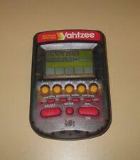 Yahtzee Electronic Handheld Travel Game Milton Bradley 1995 EUC TESTED