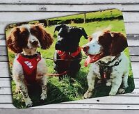 Personalised Photo Placemat, Printed with your photo, add text