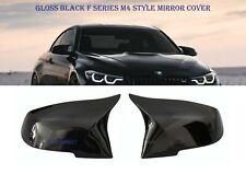 GLOSS BLACK BMW M3 M4 SIDE MIRROR COVER CAP F20 F22 F23 F30 F31 F34 F32 F33 F36