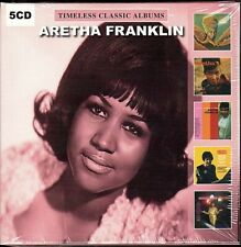 Aretha Frankin~5 Timeless Classic Albums~BRAND NEW 5 CD SET~Free 1st Class Mail