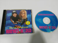 WAYNE´S WORLD SOUNDTRACK OST CD 1992 WARNER GERMAN EDITION QUEEN JIMI HENDRIX
