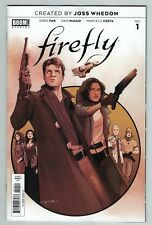 Firefly 1 regular cover A 1st print Boom Studios created by Joss Whedon 2018