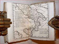 REGNO DI NAPOLI con Carta 1760, Calendario di Corte GEOGRAFIA ASTRONOMIA ECLISSI