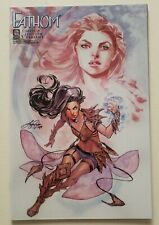 RARE FATHOM 1 LIMITED EDITION SIYA OUM VARIANT LOW PRINT RUN ASPEN HTF INCENTIVE