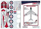 1/32 Avon Sabre Aerobatic Teams 'Red Diamonds' Decals