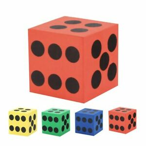 For Kids Cubes Random Color Funny Dice Toy Educational Toys Cube Toys Foam Dice