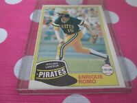 OPC 1981 ENRIQUE ROMO       /  28   PITTSBURGH PIRATES