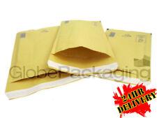 500 X arofol Ar1 Oro Burbuja Sobres Bolsas acolchadas 100x165mm a/000 * 24 Hrs *