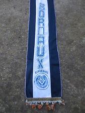 Echarpe vintage GIRONDINS de BORDEAUX scarf sciarpa années 80 football collector