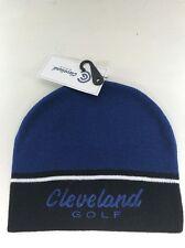 Cleveland Golf Winter Beanie, Blue /white/black, BNWT