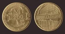 200 LIRE 1996 ACCADEMIA GUARDIA DI FINANZA - ITALIA Q.FDC QUASI FIOR DI CONIO