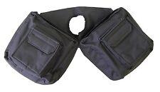 JT TOUGH 1 BLACK Trail Saddle INSULATED Horn Bag Pommel Horse Tack