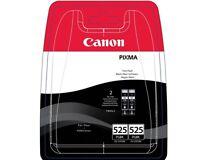 2x Canon PGI 525PGbk Tintenpatrone SCHWARZ TWINPACK NEU & ORIGINAL