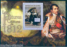 Guinea 2012 Famous Painting Of 1812 By Francisco Goya Souvenir Sheet Mint Nh