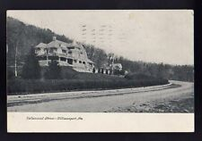 1909 Williamsport Pennsylvania PA Vallamount Drive  Photo Postcard