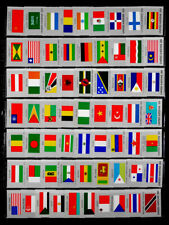 UNITED NATIONS: 1980'S STAMP COLLECTION MINT NEVER HINGED FLAGS
