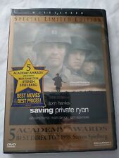 Saving Private Ryan (1999 Dvd Special Limited Edition) Widescreen Tom Hanks New