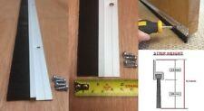 Bas de Porte Brosse Bande Draught Exclure Scellé 915mm Aluminium Couleur Qté 10