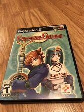 Ephemeral Fantasia (Sony PlayStation 2, 2001) PS2 BA4