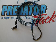 shark rig 62 [136lb] kilo 316 49 strand stainless steel coated wire