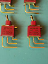 100AWSP1T2B4M7RE E-Switch Toggle Switch ON None ON SPDT (1 Piece) Factory New