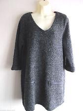V-Neck Plus Size Midi Jumper Dresses
