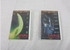 Alien Ridley Scott Sigourney Weaver japanese movie 2 Vhs set japan Unopened new