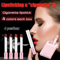 4Pcs/box Creative Lipstick Matte Long Lasting Waterproof Lip Stick Lips Makeup