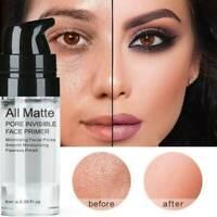 Face Primer Base Liquid Natural All Matte Foundation Pores Invisible Oil Control