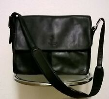 Kenneth Cole of NY Genuine (Soft) Cowhide Black Leather Shoulder Bag. The Best!