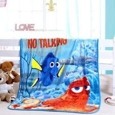 Kids Soft Mink Blanket Flannel Fabric 1 x 1.4 Meter Finding Dory Nemo