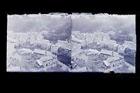 La Vallée Da La Rance A Dinan Francia Placca Da Lente Stereo Negativo Verso 1925