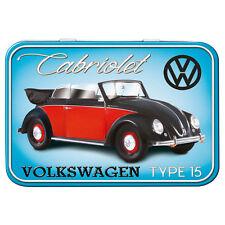 Volkswagen VW Beetle Type 15 Metal Keepsake Tin Men Gift Storage Licensed 50471