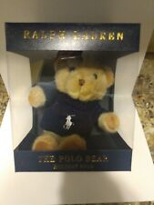 Ralph Lauren Holiday 2019 The Polo Bear plush