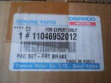 NEW OEM FACTORY DAEWOO Lanos Front Brake Pads 11046952012 SHIPS TODAY