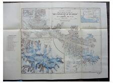 1926 Lambart - ASCENT OF MOUNT LOGAN - Color Map - PANORAMAS - 7